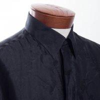 czarna bluzka koszulowa
